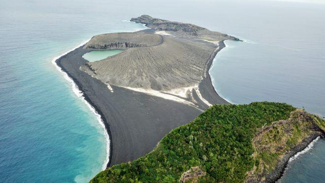 O misterioso lodo encontrado em ilha 'recém-nascida' do Pacífico que intriga a Nasa